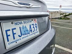 Nova Scotia license plate