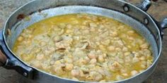 David Rocco's Chickpea Soup