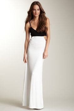 Jigsaw London Side Cutout Maxi Dress by Casual Spring Style on @HauteLook