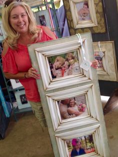 Another happy customer!  The Frame Cottage of Wye Mountain. The Painted Tree Vintage Market, Bryant, AR. First Monday Trade Days,Canton, TX. Distressed, wooden picture frame.Texas Trade Days. Texas Trade Days Ap