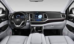 2016 Toyota Highlander 2017 Interior