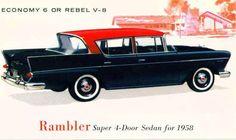 1958 rambler - Google Search