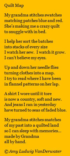 The Poem Farm: Quilt Map & Spark 18!  This poem celebrating creativity is from The Poem Farm, Amy Ludwig VanDerwater's ad-free, searchable blog full of hundreds of poems, poem mini lessons, and poetry ideas for home and classroom - www.poemfarm.amyl....