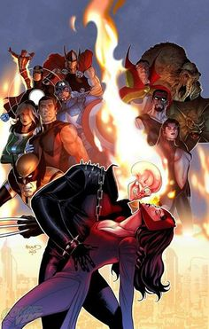 Uncanny Avengers by Paul Renaud *