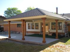 covered patio addition of our wood aluminum and lattice patio covers - Patio Addition Ideas