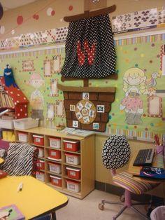 Pirate theme classroom wall