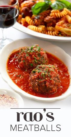 Try making this traditional Italian recipe for meatballs with marinara sauce. Th… Try making this traditional Italian recipe for meatballs with marinara sauce. They're are lots of tips for making the perfect meatballs. Meatball Recipes, Meat Recipes, Pasta Recipes, Best Italian Meatball Recipe, Recipies, Carrot Recipes, Sausage Recipes, Ground Beef, Asian Food Recipes