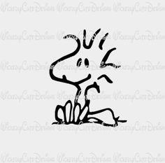Woodstock 2 SVG, DXF, EPS, PNG Digital File – Wickedly Cute Designs