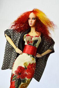 OOAk Haori art doll.  www.emperis.co.uk