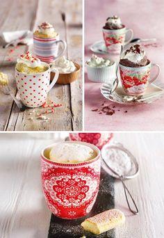 Mug Cakes: Blitzschnelle Kuchen aus der Mikrowelle: http://www.gofeminin.de/kochen-backen/mug-cakes-d59699.html #mugcakes