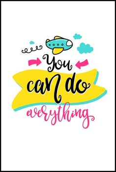 you can do anything wall art