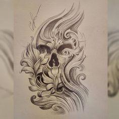 Skull Tattoos, Cute Tattoos, Sleeve Tattoos, Ozzy Tattoo, Arm Tattoo, Tattoo Memes, Gangster Tattoos, Skull Artwork, Bird Skull