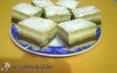 Érdekel a receptje? Kattints a képre! Hungarian Cake, Izu, Cornbread, Cake Recipes, French Toast, Cheesecake, Food And Drink, Cooking Recipes, Favorite Recipes
