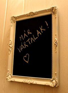 drabmelinda Chalkboard Quotes, Art Quotes, Frame, Diy, Crafts, Decor, Picture Frame, Manualidades, Decoration