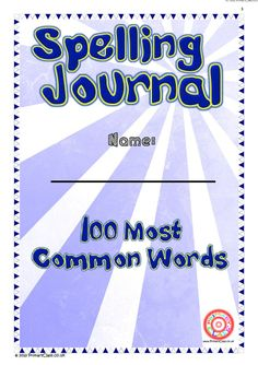 Separated into 10 weeks, 10 words per week. Each week includes word list, practice space, wordsearch and anagrams. Notes and contents page also included.