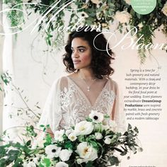 Our Elle gown featured on the pages of Real Weddings Magazine for Spring Available in stores now! Event Planning, Wedding Planning, Winter Springs, Real Weddings, Flower Girl Dresses, Gowns, Love, Wedding Dresses, Instagram Posts