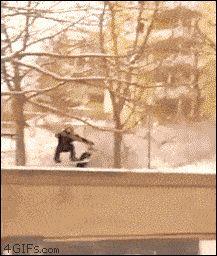 This snowboarder: