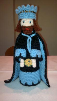 Rey Gaspar a crochet
