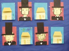 Several activities relating to Abraham Lincoln and George Washington (lots of photos!)