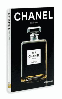 NEW CHANEL PERFUME HARDCOVER BOOK