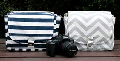 Make a statement during your photo shoots with a beautiful digital camera bag. The adjustable divider allows for a customized fit for your camera. It has an exterior pocket for your keys & phone. Sweet!