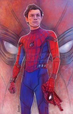 'Peter Parker'/'Spider-Man' in 'Spider-Man: Homecoming' (2017) fan art
