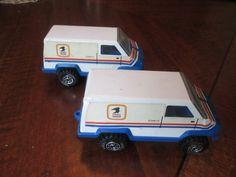 Tonka Toy US Mail Vans