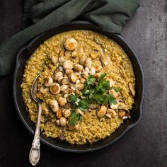 🍴Šafránové rizoto recept – rychle, zdravě a jednoduše 🍴 Jimezdrave.cz Risotto, Paella, Ethnic Recipes, Omega, Instagram, Clean Foods, Health, Food Food
