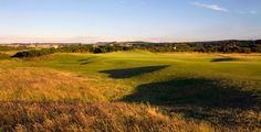 """The New Course, St. Andrews, Scotland.  Oldest """"new"""" course in the world. Set out in 1895 by Old Morris."""