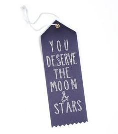 Catbird :: shop by category :: BABY & KID :: Moon and Stars Prize Ribbon