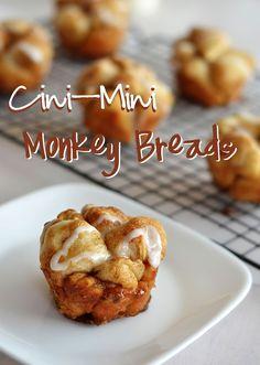 Life as a Lofthouse (Food Blog): Cini-Mini Monkey Breads
