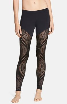 Solow+Openwork+Leggings+available+at+#Nordstrom