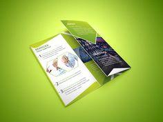 Livre Tri-fold Folheto corporativo
