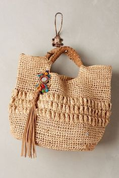 Anthropologie Lucayan Tote BagBy Flora Bella in Clothing, Shoes & Accessories, Women's Handbags & Bags, Handbags & Purses   eBay