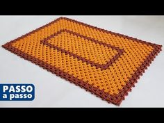 Tapete retangular ECONÔMICO e FÁCIL - Passo a passo - YouTube Crochet Hair Accessories, Crochet Hair Styles, Crochet Table Mat, Diy And Crafts, Lily, Make It Yourself, Rugs, Blog, Youtube