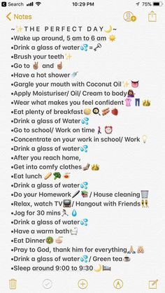 Try doing this routine for once, and it really makes you feel amazing and it's. Produits de Soins de la Peau Try doing this routine for once, and it really makes you feel amazing and it's. School Routine For Teens, Morning Routine School, School Routines, Life Hacks For School, Girl Life Hacks, Sunday Routine, Daily Routine Schedule, Night Time Routine, Girls Life