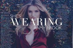 Look who's wearing Ramy Brook!