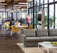 Genial Millbrae Lifestyle Lounge And Massaud Conference Seating By CG_1 And  Potrero415 Tables. Open Office Design
