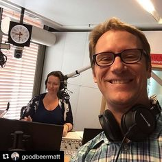#Repost @goodbeermatt  About to talk all things beer pretzels and #oktoberfestbrisbane with Rebecca Levingston on @612abcbrisbane.