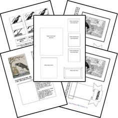 FREE Fable Lapbook