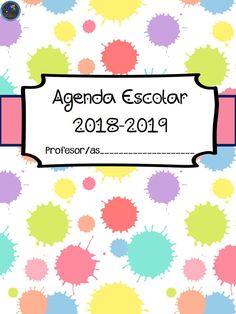NUEVA AGENDA ESCOLAR 2018-2019 IMÁGENES EDUCATIVAS TOTALMENTE GRATUITA - Imagenes Educativas