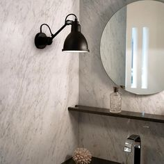 N ° 304 Stainless steel bathroom wall lamp Matt Black DCW Editions, Bernard-Albin Gras – € by vbaussan Bathroom Ceiling Light, Bathroom Wall, Dcw Editions, Lampe Gras, Applique, Cast Steel, Wall Lights, Ceiling Lights, Roof Light