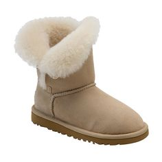 UGG Australia 'Bailey Button' Boot (Walker, Toddler, Little Kid & Big... ($150) ❤ liked on Polyvore