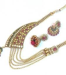 Buy Royal elegant bridal wear set 1078 bridal-set online