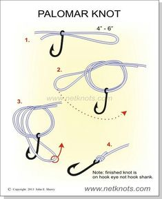 The best fishing knot and it's easy too.