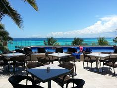 Our brand new VIP Lounge at Garrafon Park. Amazing view!