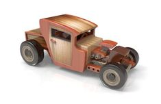 Check Out These Tips About Wooden Toy plans Woodworking is both a valuable trade and an artistic skill. There are many facets to woodworking which is why it is so enjoyable. Diy Wooden Toys Plans, Wooden Toy Trucks, Making Wooden Toys, Wooden Diy, Electric Hand Drill, Hot Rod Pickup, Wooden Plane, Art Supply Stores, Woodworking Toys