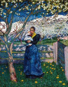 Giovanni Giacometti - Bloom (1900)