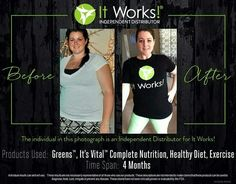 AMAZING results from a fellow distributor after four months on It Works products and exercise! Message or text 313-6iwrapu for more info! #WelchWraps