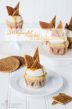 Where in the Word is Bakingdom? Stroopwafel Cupcakes {Updated}